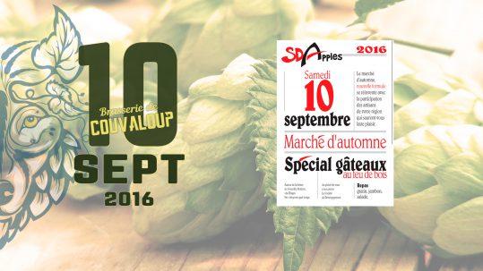 Marché d'automne SDA 2016